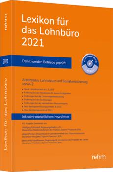 DEUBNER MEDIEN   Lexikon für das Lohnbüro 2021